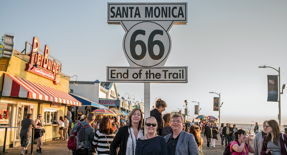 Route 66, dag 14–17, eller The Bitter End…