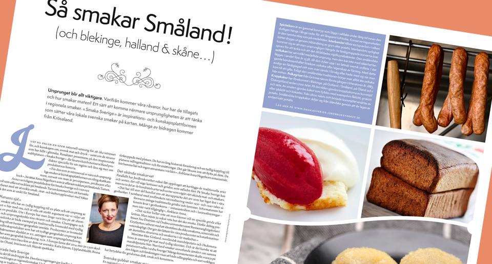 Ett nytt sätt att smaka på Sverige